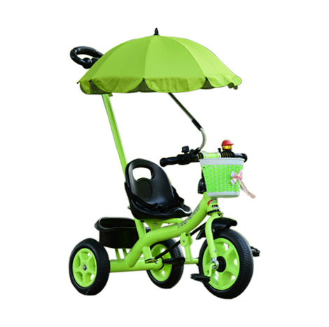 Children Outdoor Portable Tricycle/ Bicycle Trolley With Umbrella (GPA-12)