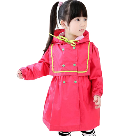 Hot Pink Raincoat for Kids