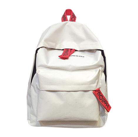 Korean High school Style Canvas Backpack ( HSC475)
