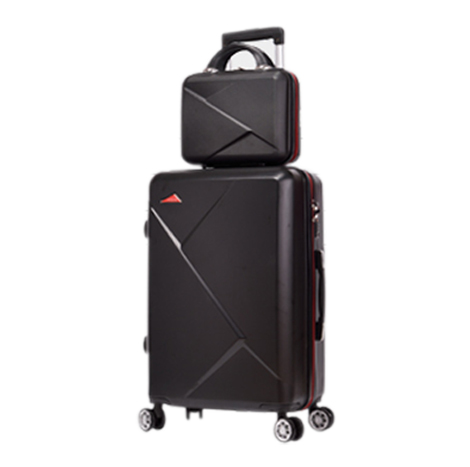 Waterproof Anti-Scratch Universal Wheel Trolley Luggage Suitcase (14+20Inch) Set ( BSD13 )