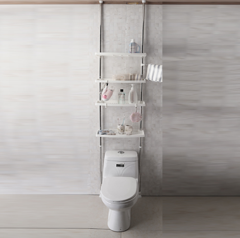 95 Myanmar 4-layer Toilet Storage Rack (CSR - 1031)