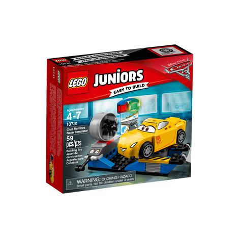 LEGO JUNIORS CRUZ RAMIREZ RACE SIMULATOR 59PCS/PZS (4-7AGE/EDADES) (10731)