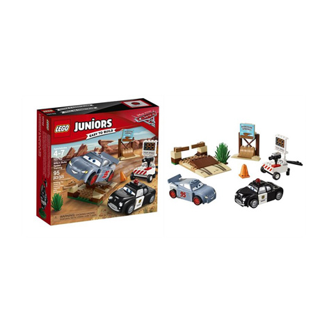 LEGO JUNIORS WILLY'S BUTTE SPEED TRAINING 95PCS/PZS (4-7AGE/EDADES) 10742