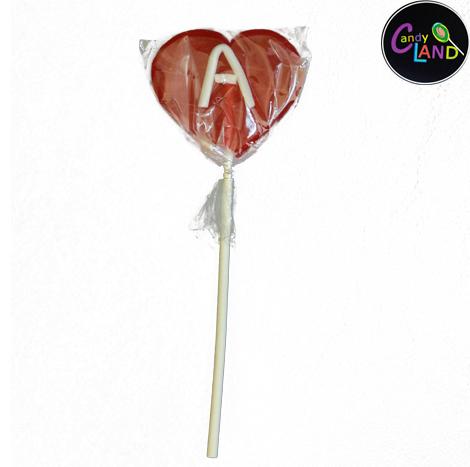 Candy Land Heart Shape Lollipop
