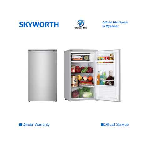 SKYWORTH 110L One Door Refrigerator ( SRS110DT )