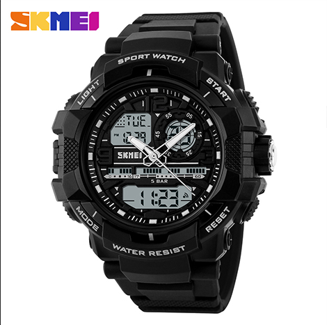 SKMEI Dual Display Wristwatches,Quartz Wristwatches (1164)