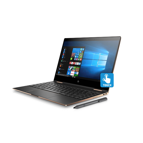 HP Spectre X360 13-ae515TU (i5) 8th Gen ( Black Gold ) Without Drive