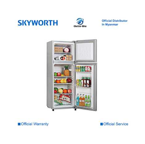 SKYWORTH 121L Two Door Refrigerator ( SRD-130DT )