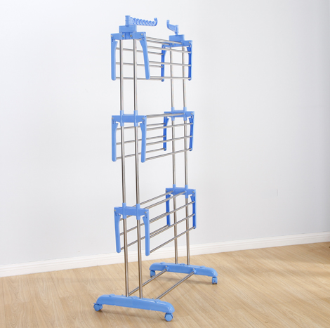 95 Myanamr 3 Shelf Clothes Rack (CDR - 0402 B)