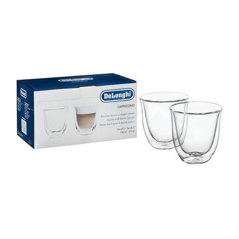 Delonghi Double Wall Glass Cappuccino 190ml ( DBWALLCAPP )