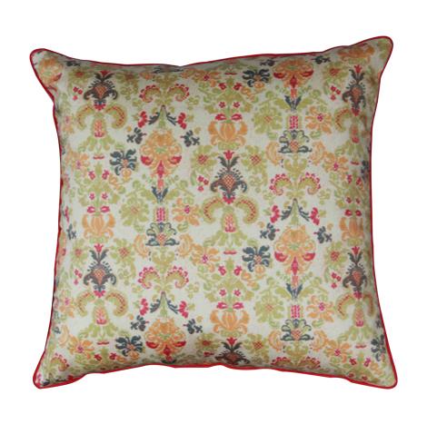 Beige Beauty Cushion Cover (16''x16'')
