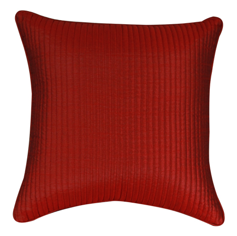 Silk Touch Maroon Cushion Cover (16''x16'') - QPC065