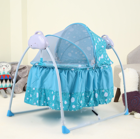 Baby Multi-functional Electric Portable Folding Music Cradle (S2013012202643855)