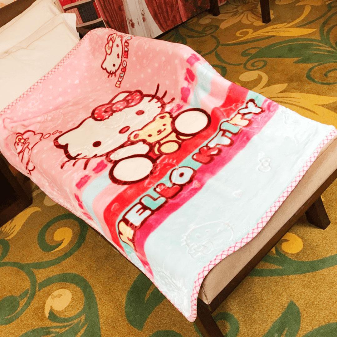 Hello Kitty Delicate Baby Blanket