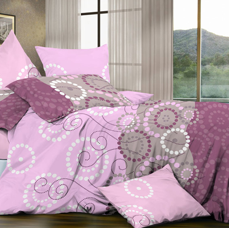 GOLDSLEEP Naomi Micro comforter set (Kingsize)-2714#