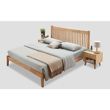 Nicco Local Rubber Sculpted Headboard King Size (BFR-01)