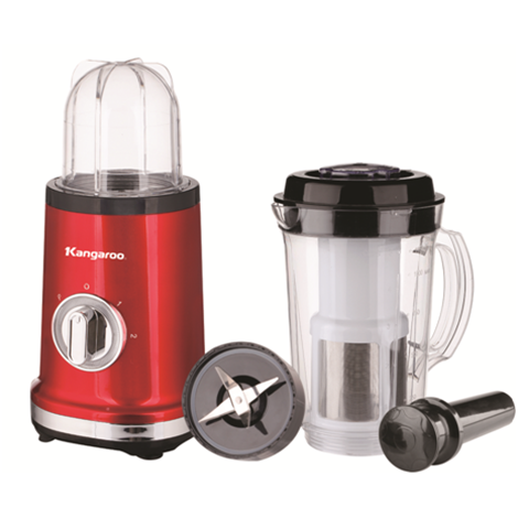 KANGAROO 3 in 1 Blender 1.0L with Filter (Plastic Jar) ( KG2B2 )