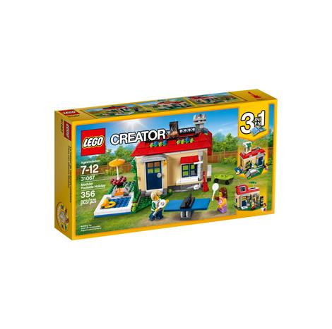 LEGO CREATOR MODULAR POOLSIDE HOLIDAY 356PCS/PZS (7-12AGE/EDADES) (31067)