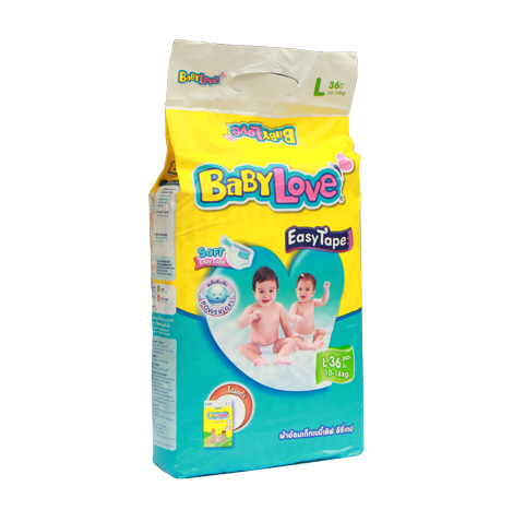 BABYLOVE EASY TAPE (JUMBO PACK)