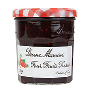 BONNE MAMAN 4 Fruits Preserves Jam 370G ( BM02013 )