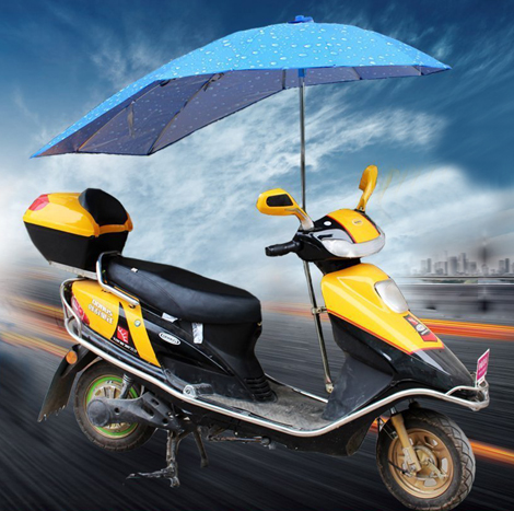 Swallowtail Umbrella For Motorcycle ( SM00181 )