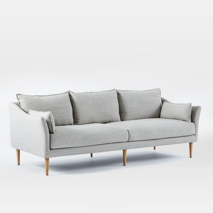 NICCO Classic Style Mixed Linen & Cotton Sofa ( SN-01 )