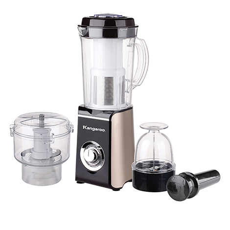 KANGAROO 4 in 1 Blender 1.0L with Filter, Meat Grinder (Plastic Jar) ( KG3B1 )