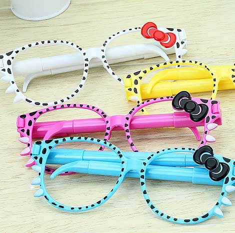 Children's Bowtie Sunglass design Double Pen ( LJ001)