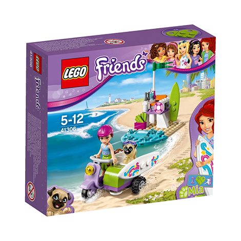 LEGO FRIENDS MIA`S BEACH SCOOTER BUILDING TOY - (41306)