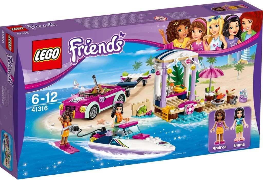 LEGO FRIENDS ANDREA'S SPEEDBOAT TRANSPORTER 309PCS/PZS (6-12AGE/EDADES) 41316
