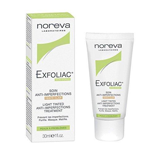 Noreva EXFOLIAC corrective treatment light tinted 30ml