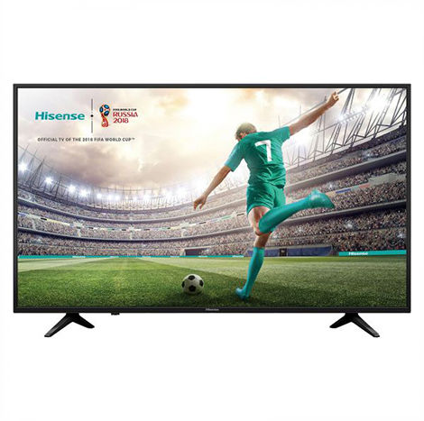 Hisense 43″ LED TV (Digital T2+4K Smart ) (43A6100UW)