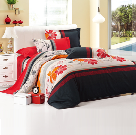 GOLDSLEEP Naomi Cotton comforter set (Single)-#4582