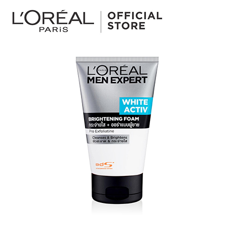 L'Oreal Men Expert White Activ Whitening Cleansing Foam 100 ml