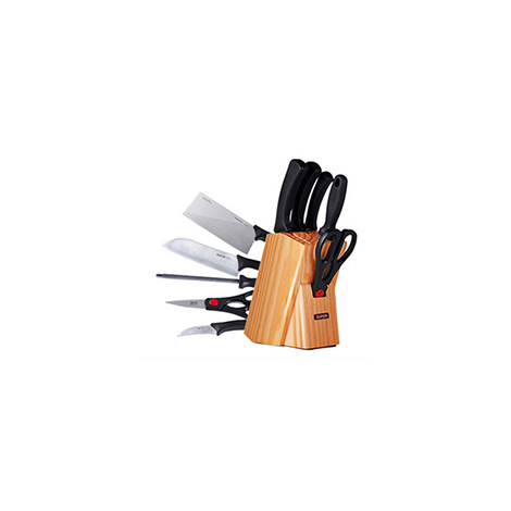 SUPOR Kitchenware 304 stainless steel kitchen Multi-knife combination 7 Piece set (T0924K)