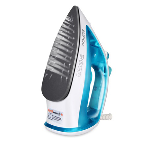 SUPOR Electric Iron Home Steam Mini Hand-Held Small Iron Student Dormitory Small Ironing Clothes Iron YD18A07J-12 (Blue)