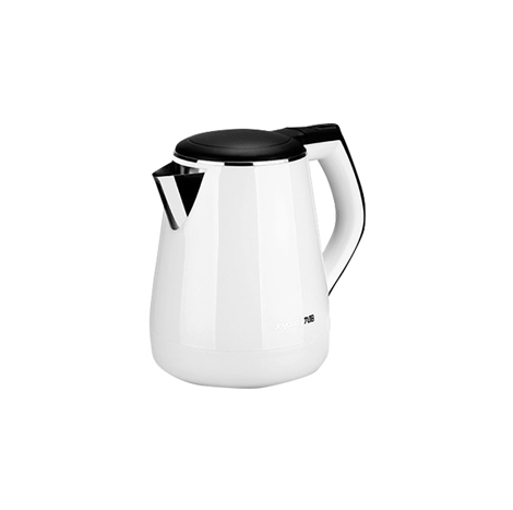 Joyoung Electric Automatic Power Off 304 Stainless Steel Kettle, 1.3 Liter White (JYK-13F05A)