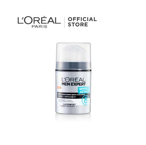 L'Oreal Paris MEN WHITE ACTIVE POWER 4/8 MOISTURIZER 50 ML