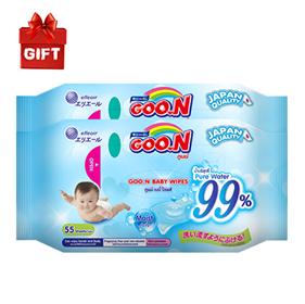 GOO.N Baby Wet Tissue Pack (2P)