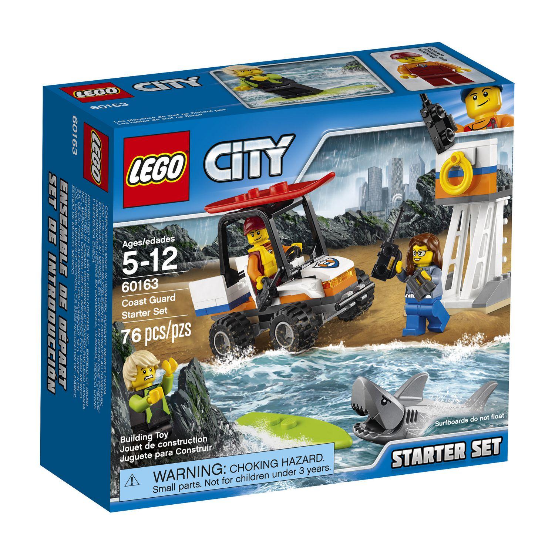 LEGO CITY COAST GUARD STARTER SET 76PCS/PZS (5-12AGE/EDADES) 60163