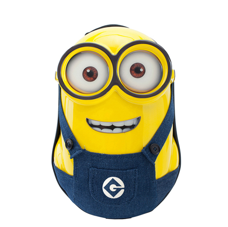 Minions Children 3D character backpack School bag (XHRJH096)