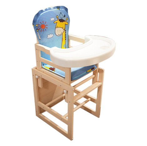 Happy Rabbit Multi-function Baby Dinning Chair and Table ( 785B )