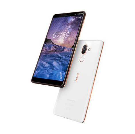 Nokia 7 Plus (4GB, 64GB) White