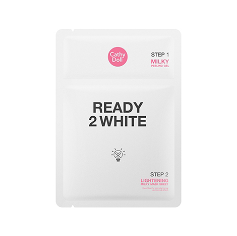 Cathy Doll Ready 2 white lightening mask sheet