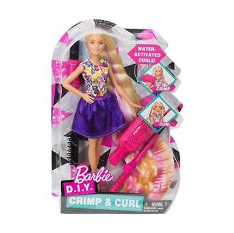 Monument Barbie D.I.Y Crimp & Curl (5+) (887961383737)