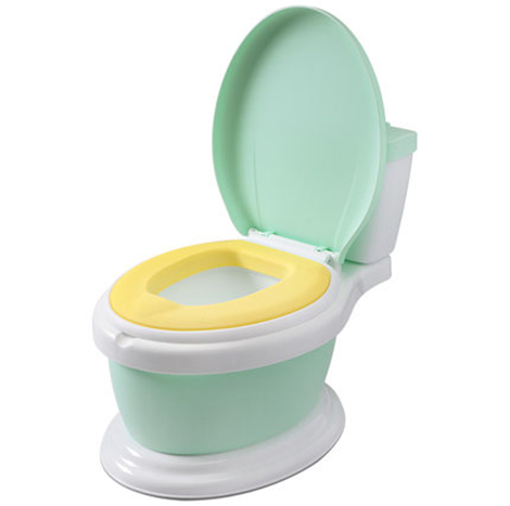 XL Children's Toilet Female Baby 1-3-6 Year Simulation Seat Child Toilet Infant Male Potty Urinal ( LB801 )