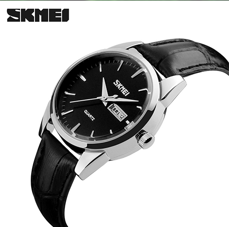 SKMEI FORMAL QUARTZ DATED WOMEN'S WATCH (9073)