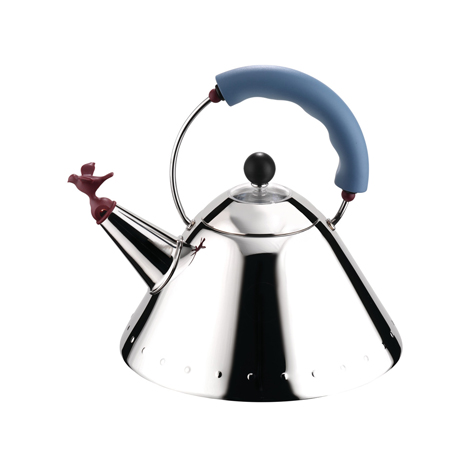 ALESSI Stainless Steel Kettle (9093)