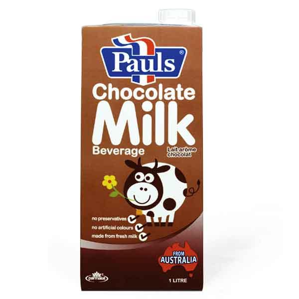 PAUL'S UHT MILK CHOCOLATE (200ML)