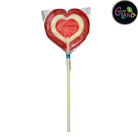 Candy Land Triple Heart Lollipop